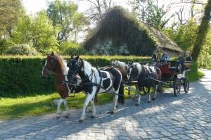 Kutschfahrt mit der Wagonett im Vierergespann