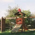 Spielplatz und Klettergerüst